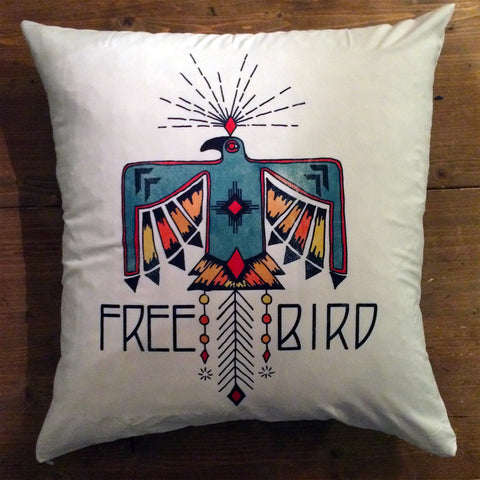 Free Bird - pillow cover