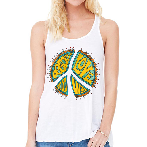 Peace, Love, Good Vibes - women's
