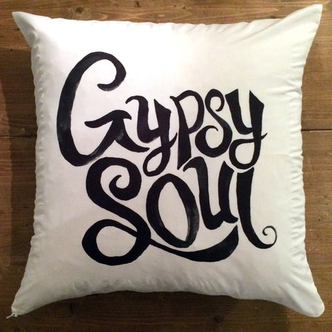 Gypsy Soul - pillow cover