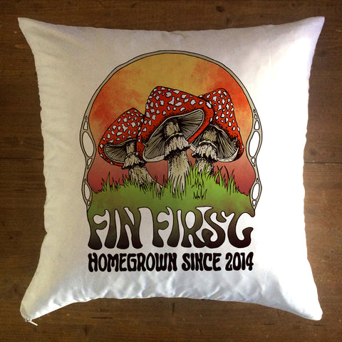 Homegrown - pillow cover