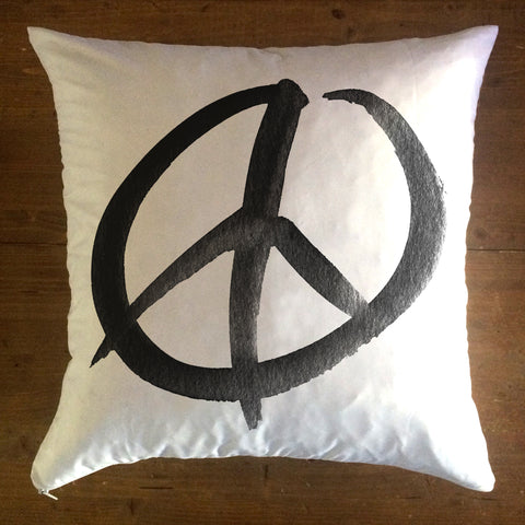 Peace Sign - pillow cover
