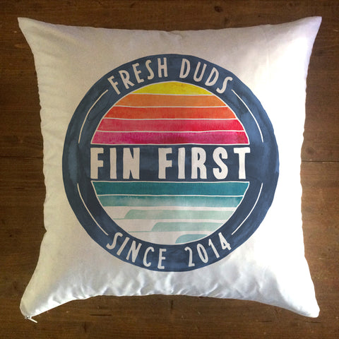 Retro- pillow cover