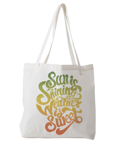 Sun is Shining - tote