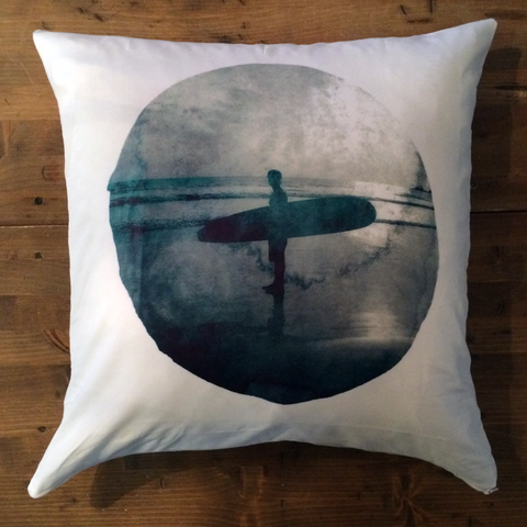 San Blas (B/W) - pillow cover