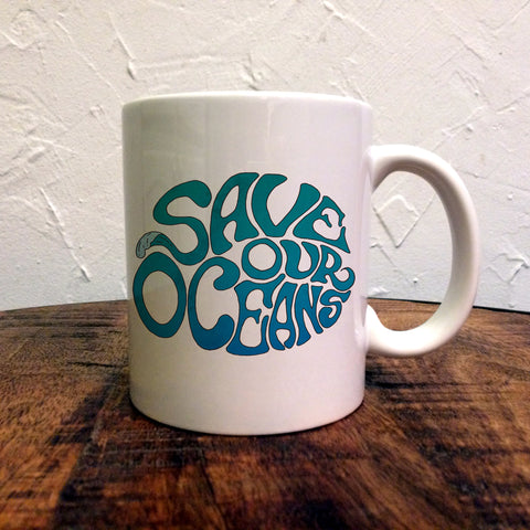 Save Our Oceans - Mug