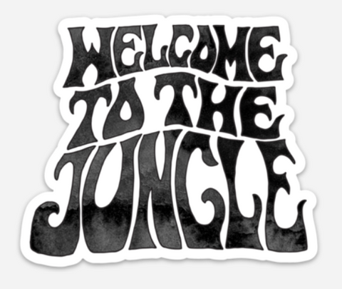 Welcome To The Jungle - Sticker