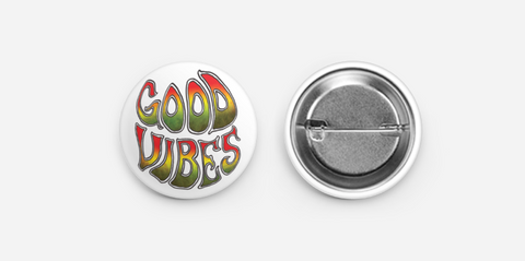 Good Vibes - Button