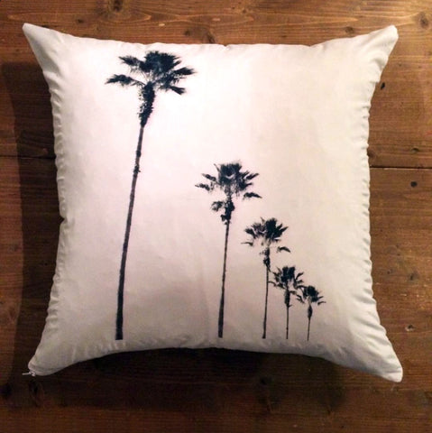 St. Augustine Palm - pillow cover