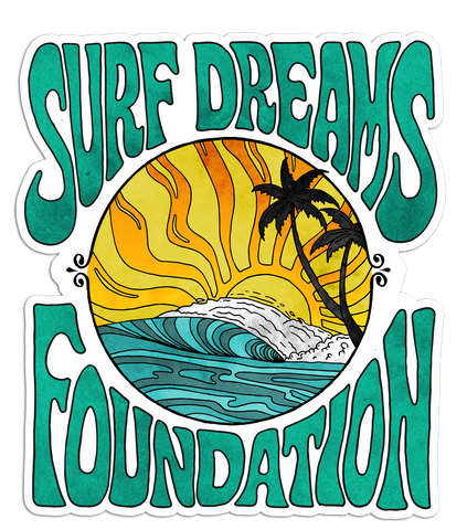 Surf Dreams - Sticker