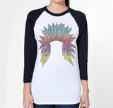 Watercolor Headdress - women's