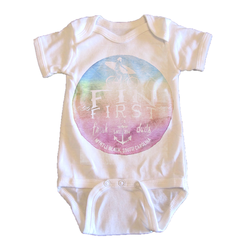 Watercolor Logo - onesie