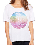 Watercolor Logo - women's
