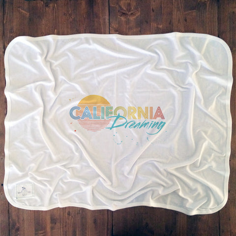 California Dreaming - Baby Blankets