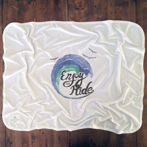 Enjoy The Ride - Baby Blankets