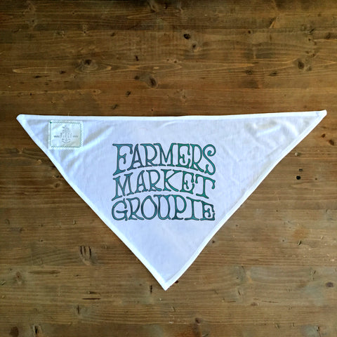 Farmers Market Groupie - Dog Bandana