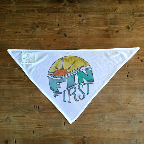 Fin Wave - Dog Bandana