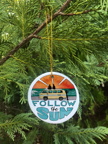 Follow The Sun - Ornament