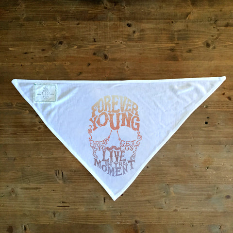 Forever Young - Dog Bandana