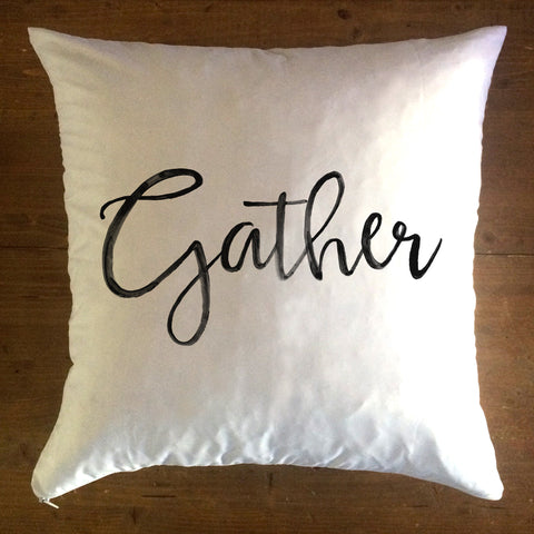 Gather - pillow cover
