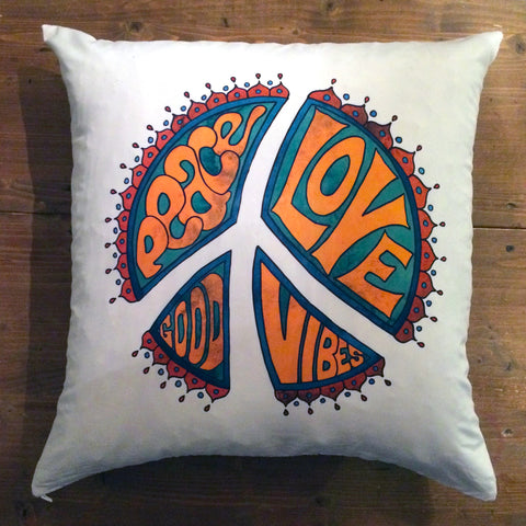 Good Vibes - pillow cover