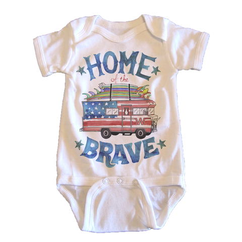 Home of the Brave - onesie