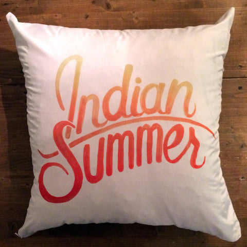 Indian Summer - pillow cover
