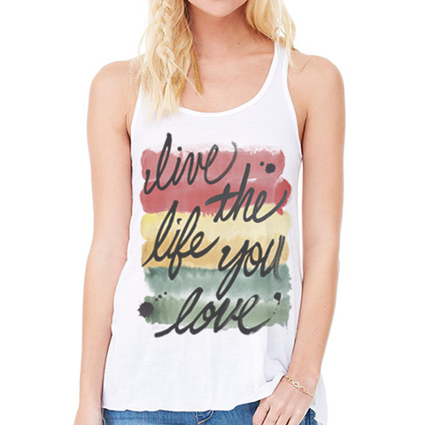 Live The Life You Love - women's