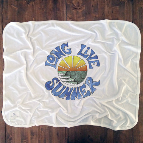 Long Live Summer - Baby Blankets