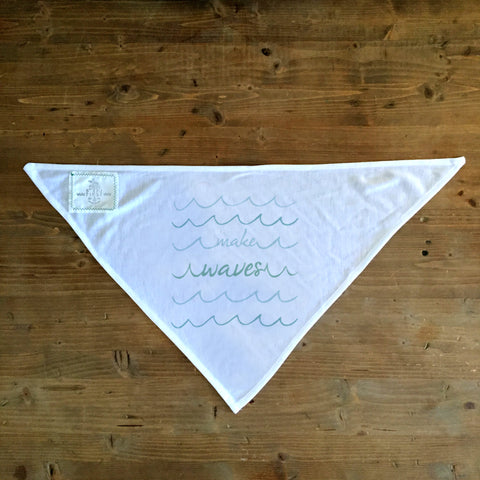 Make Waves - Dog Bandana