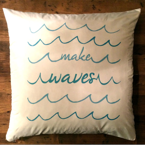 Make Waves - pillow cover