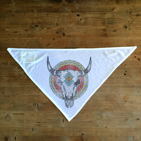Bison Skull - Dog Bandana