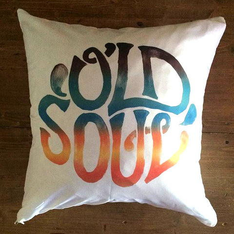 Old Soul - pillow cover
