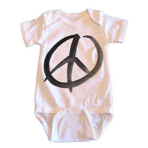 Peace Sign - onesie