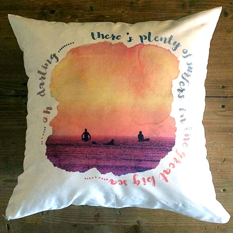 Plenty of Surfers - pillow cover