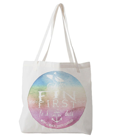 Watercolor Logo - tote