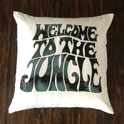 Welcome To The Jungle - pillow cover