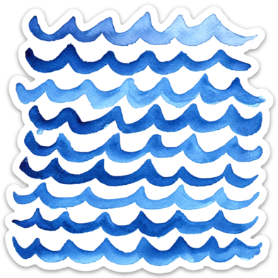 Olas- Sticker