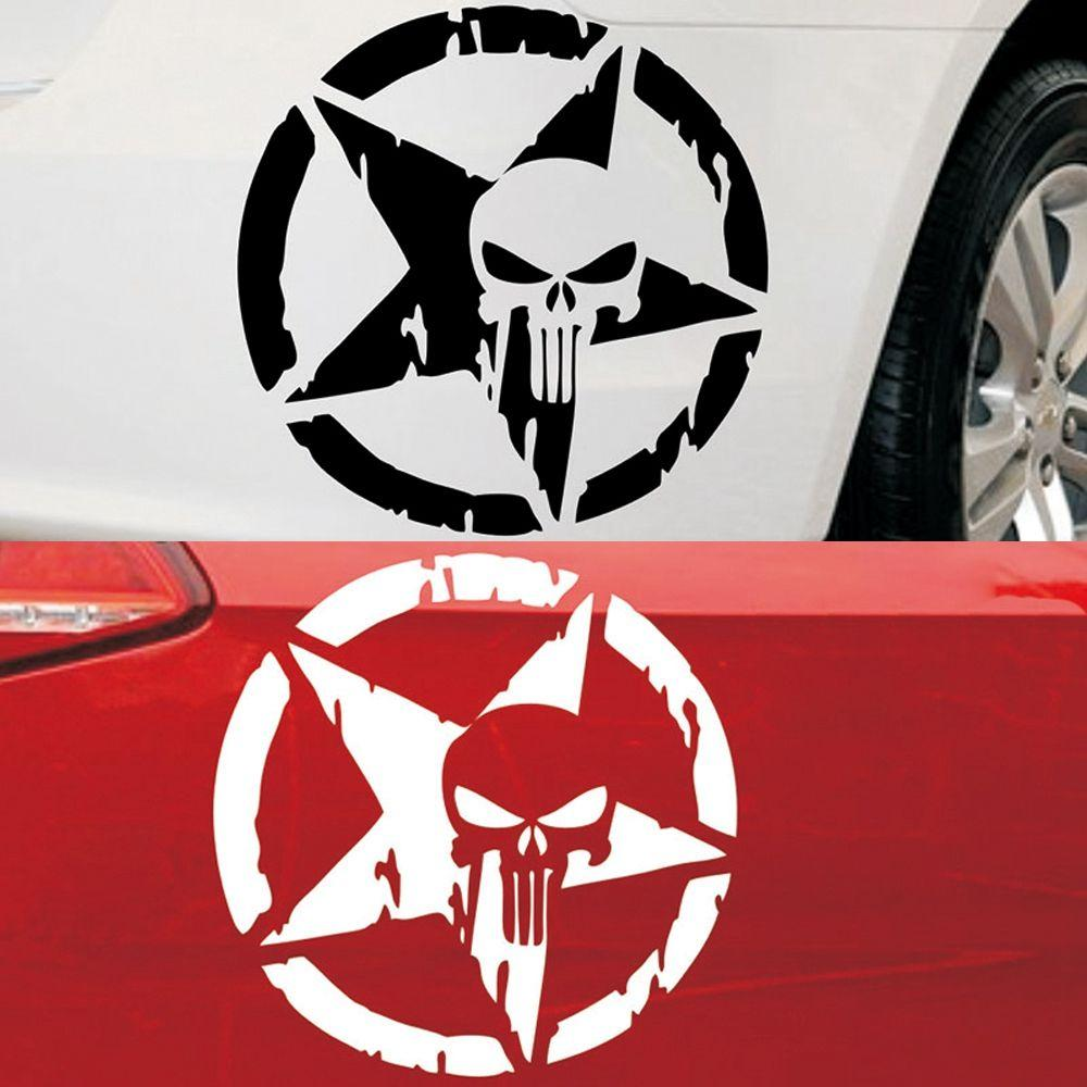Sticker punisher etoile