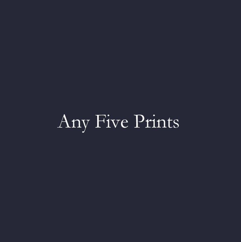 Any Five Prints