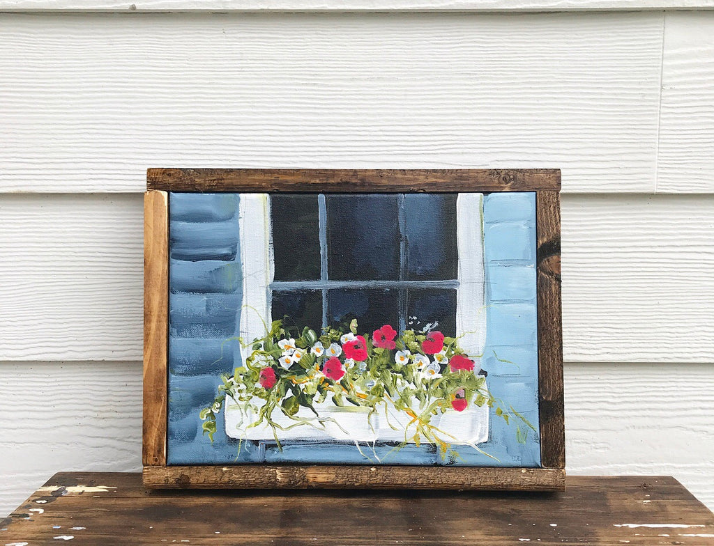 window box floral