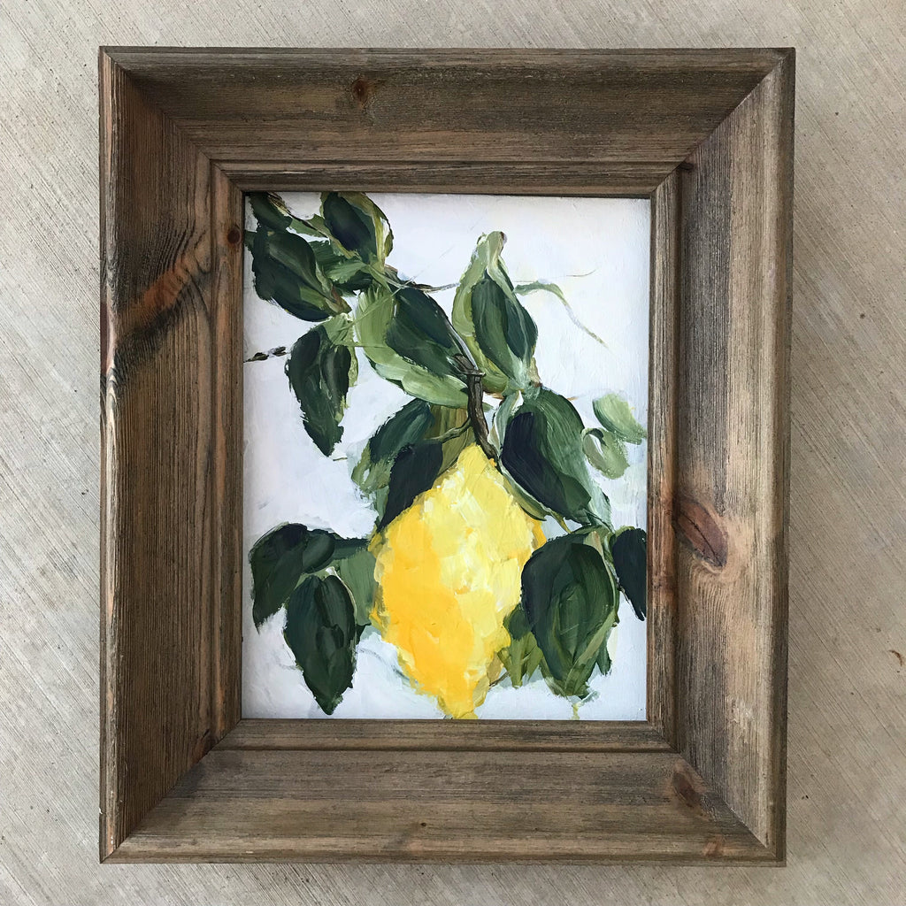 Little lemon branch