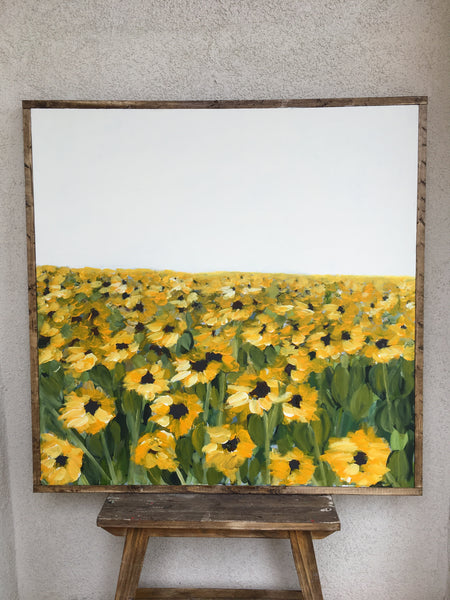 July Sunflowers