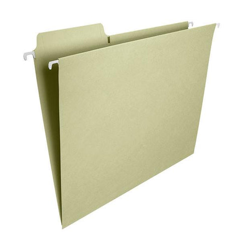 Smead FasTab® Hanging Folder, 1/3 Cut Tab, Legal Size, Moss, 20 per Box (64106)