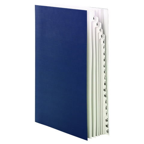 Smead Desk File/Sorter, Alphabetic (A-Z) and 1-20, 20 Dividers, Legal Size, Blue (89237)
