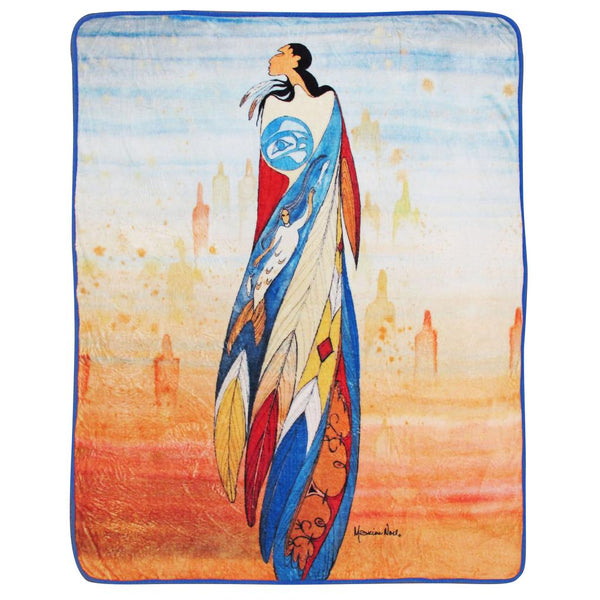 Maxine Noel Not Forgotten Plush Throw