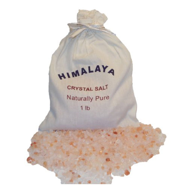 HIMALAYAN SALTS 250 G COTTON BAG