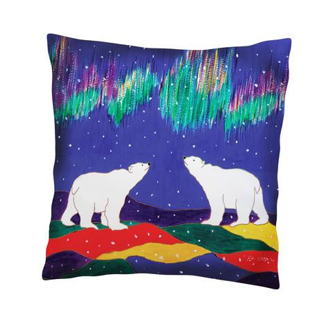 Dawn Oman Sky Watchers Cushion