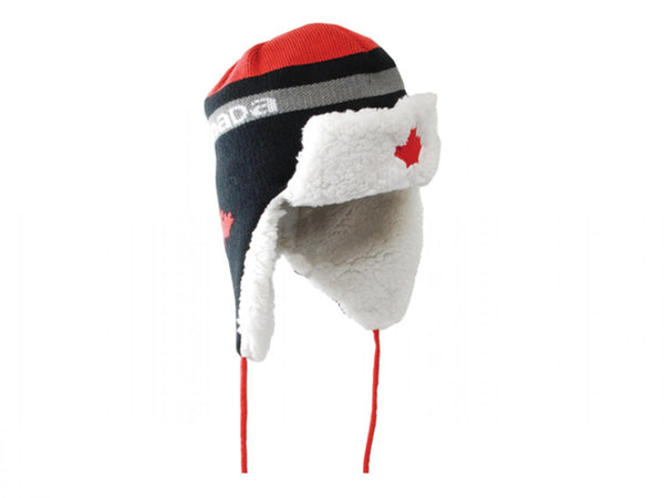 Flap Hat Canada Red