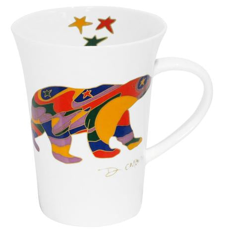 Dawn Oman Alpha Bear Porcelain Mug