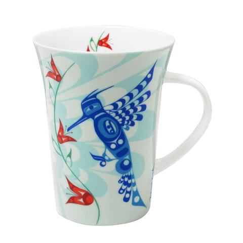 Francis Dick Peace, Love and Happiness Porcelain Mug